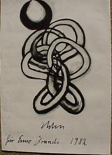 Abraham David Christian - Entwurf für eine Plastik, Lithografie 1982 kopen? Bied vanaf 60!