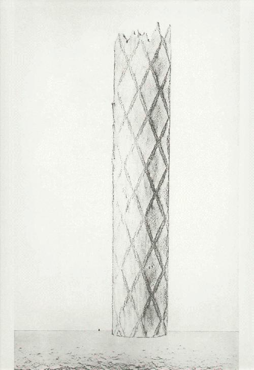 Max Ernst - Er wird weit von hier niederfallen - HISTOIRE NATURELLE 1926 - FROTTAGE in EDELDRUCK durch HATJE &ac kopen? Bied vanaf 48!