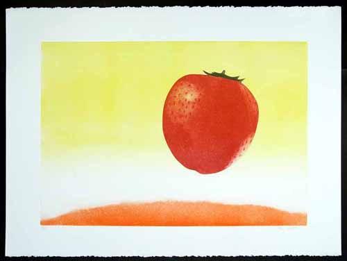 Hank Laventhol - Erdbeere - Surrealistische Pop-Art - handsignierte und nummerierte Farbradierung a. Bütten - 127/300 kopen? Bied vanaf 60!