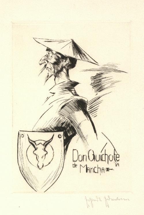 Erhardt Erdmann - Erhardt Erdmann Don Quichote sechs sign.Radierungen kopen? Bied vanaf 650!