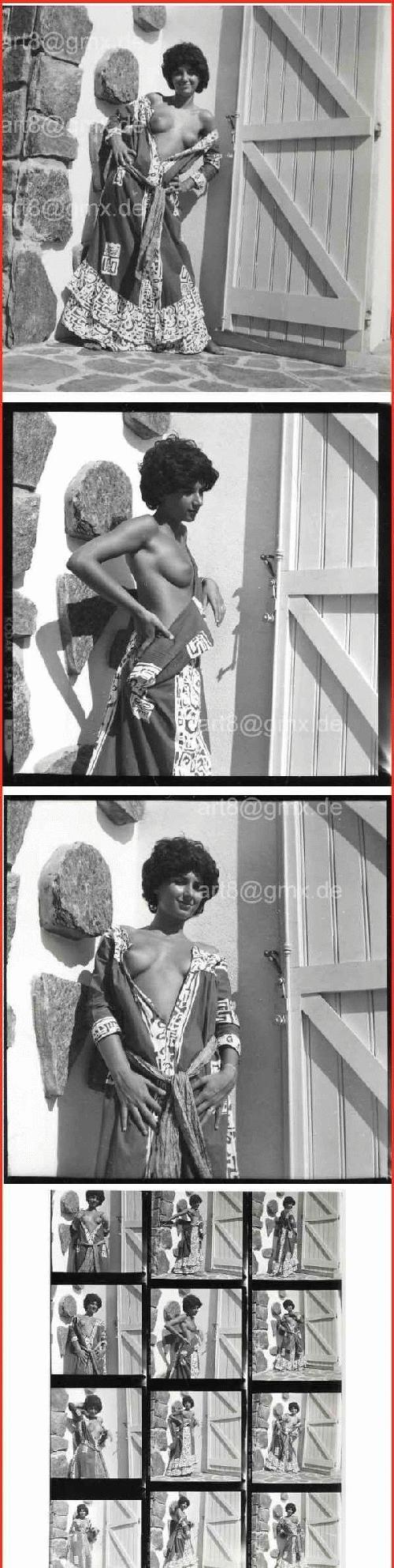 Serge Jacques - EROTISCHE Fotographie WEIBLICHER AKT - 12 ORIGINAL6x6-NEGATIVE inkl.KONTAKTABZUG -Fotographenstempel kopen? Bied vanaf 130!