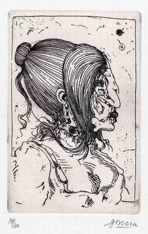 Arwed Gorella - EROTISCHE OriginalRadierung des BERLINER Künstlers zu Marquis de SADE - 1968 handsigniert num. kopen? Bied vanaf 55!