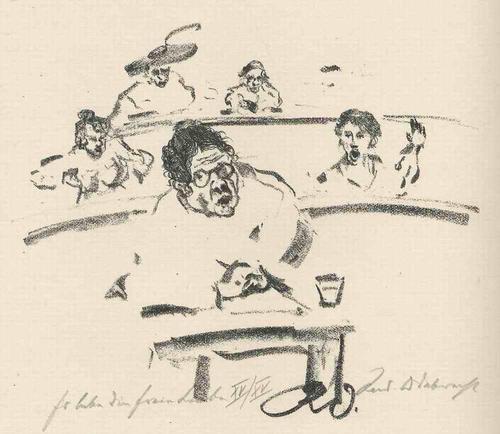 Rudolf Odebrecht - Es LEBE die FREIE LIEBE 1925 - Handsignierte & titulierte OriginalLithographie kopen? Bied vanaf 65!