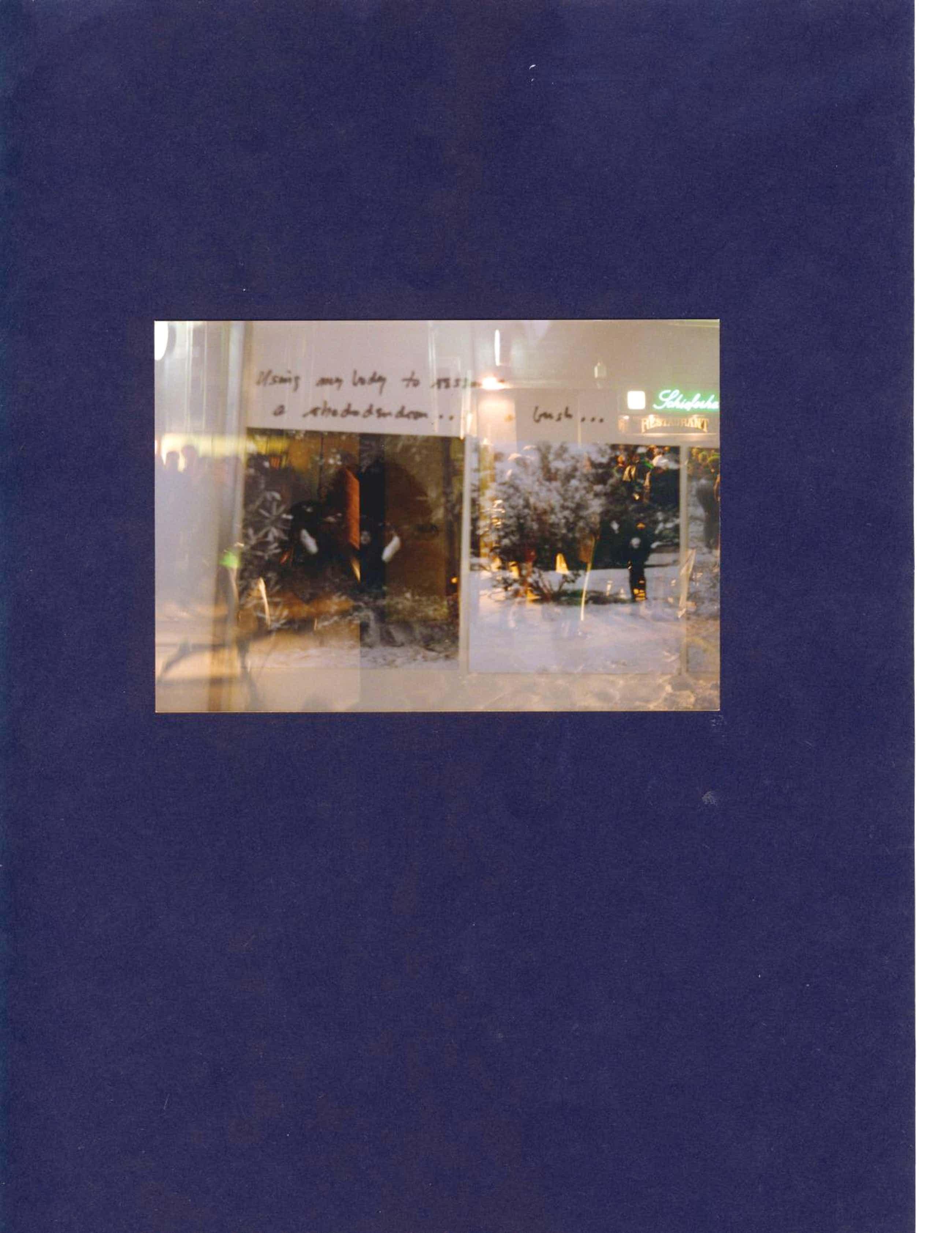 Walter Dahn - Farbfotografie, rückseitig handsigniert, Unikat, 1996 kopen? Bied vanaf 49!