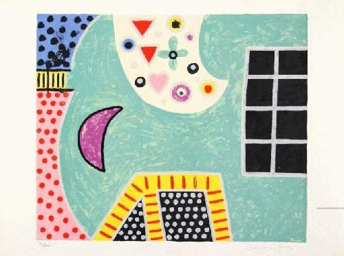 Alan Davie - Farblithographie von 1971, signiert, numeriert und datiert / KESTNER GESELLSCHAFT HANNOVER kopen? Bied vanaf 450!