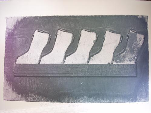 Franz Eggenschwiler - Farblithographie von 1973, handsigniert, datiert und numeriert kopen? Bied vanaf 50!