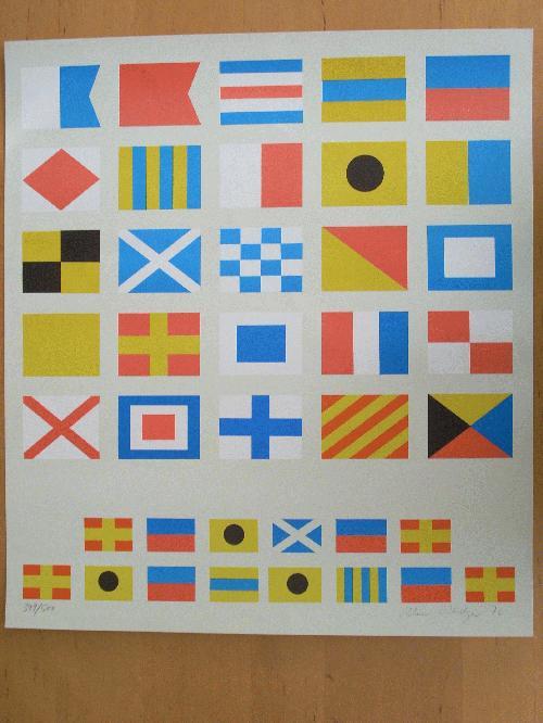 Reimer Riediger - Farboffsetdruck von 1972, signiert & numeriert, Exemplar-Nr. 399/500 kopen? Bied vanaf 45!