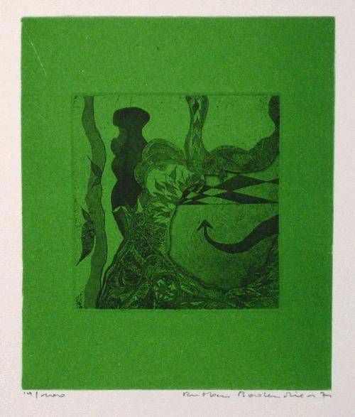 Ulf Rustan Badendieck - Farbradierung 1971, Druckbild 13,5 x 16 cm kopen? Bied vanaf 27!