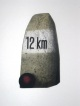 Friedrich Meckseper - Farbradierung auf Bütten -12 km (WVZ #188)- handsigniert, nummeriert 10/95, datiert 1977 kopen? Bied vanaf 250!