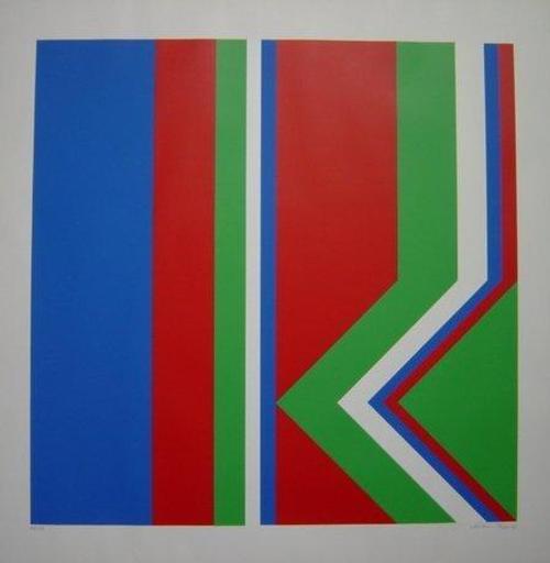 Heinz Müller-Tosa - Farbserigrafie, 1972, Blatt 60 x 60 cm, Bild 50 x50 cm, num. 48/70, signiert: Müller-Tosa72 kopen? Bied vanaf 145!