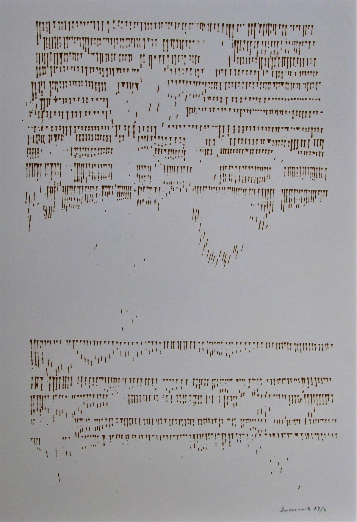 Oskar Holweck - FARBSERIGRAPHIE 1974 signiert . kopen? Bied vanaf 120!