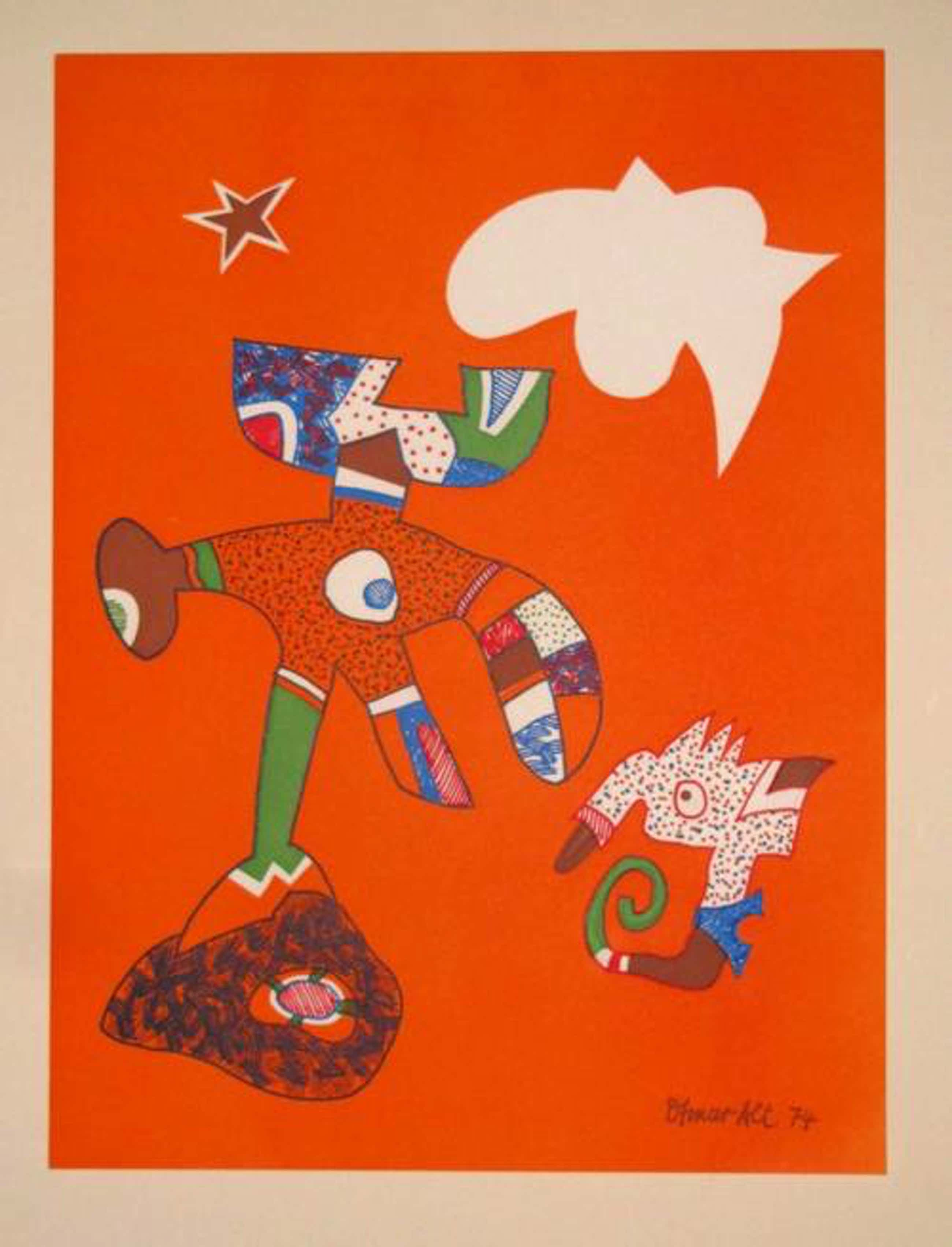Otmar Alt - Ohne Titel, 1974, Farbserigraphie, signiert kopen? Bied vanaf 85!