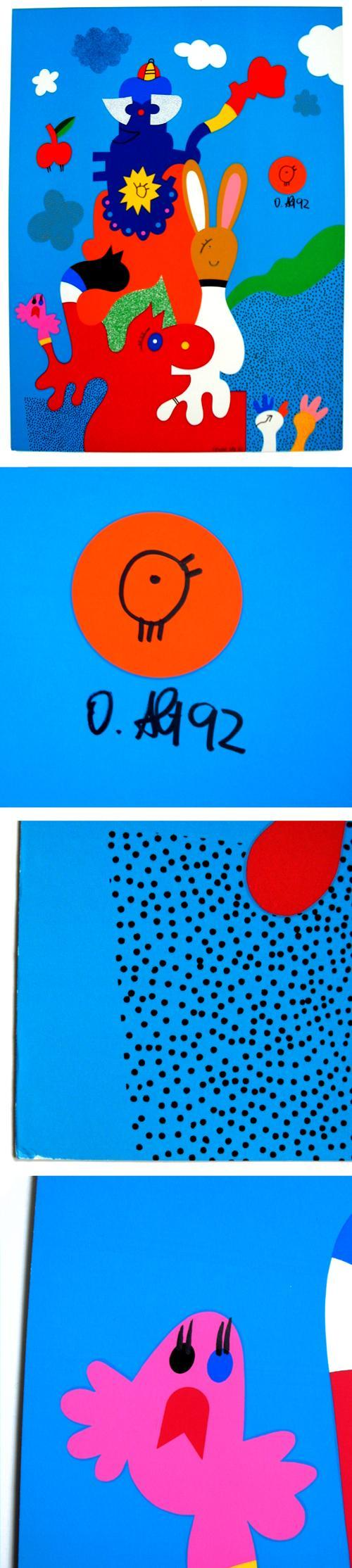 Otmar Alt - Farbsiebdruck, 1970/92. Unikat. kopen? Bied vanaf 230!
