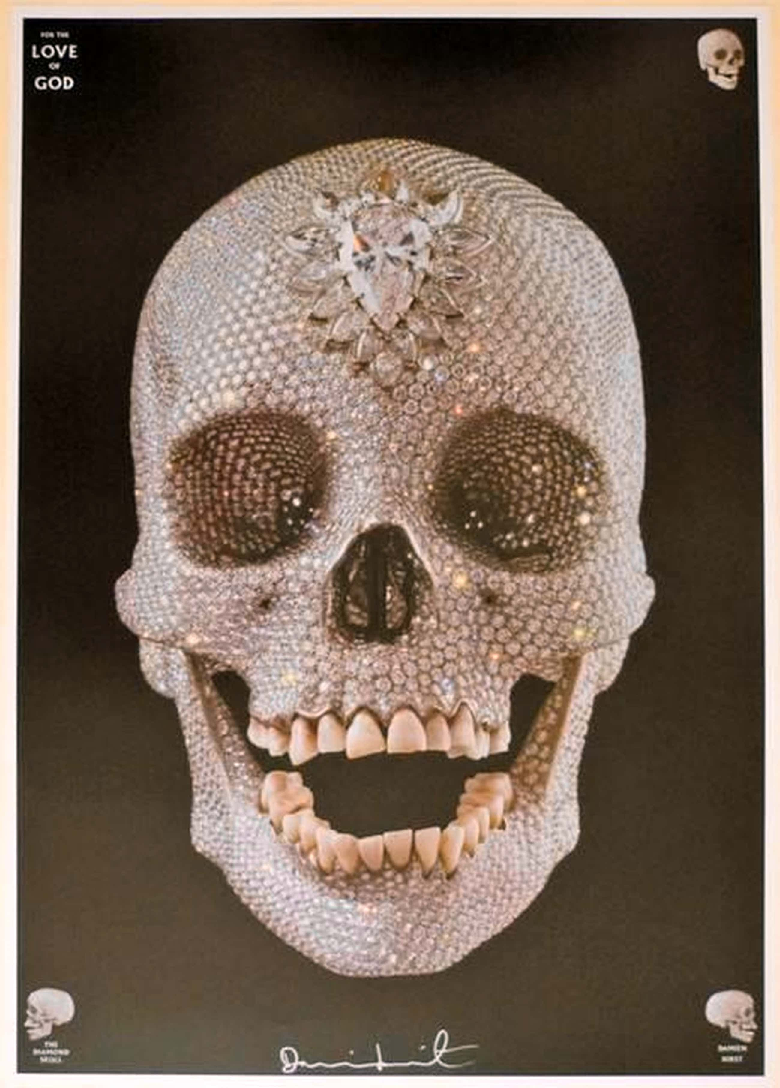 Damien Hirst - For the Love of God, handsigniert kopen? Bied vanaf 1900!