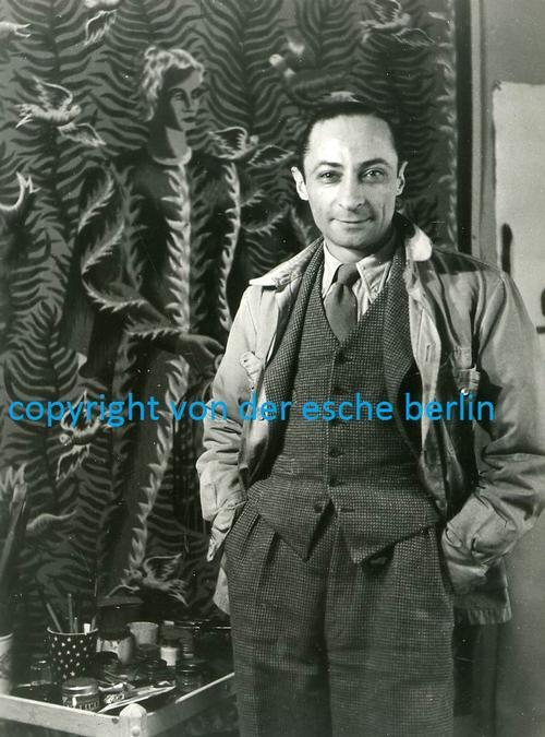 Jean Picart Le Doux - Fotografie Originale - Portrait du PEINTRE de l Alliance Graphique Internationale - PARISer MALER kopen? Bied vanaf 65!