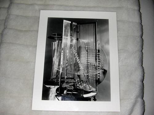 Laszlo Moholy-Nagy - Fotografie vom Orginal-Motiv, monogrammiert von Hattula Moholy-Nagy kopen? Bied vanaf 300!