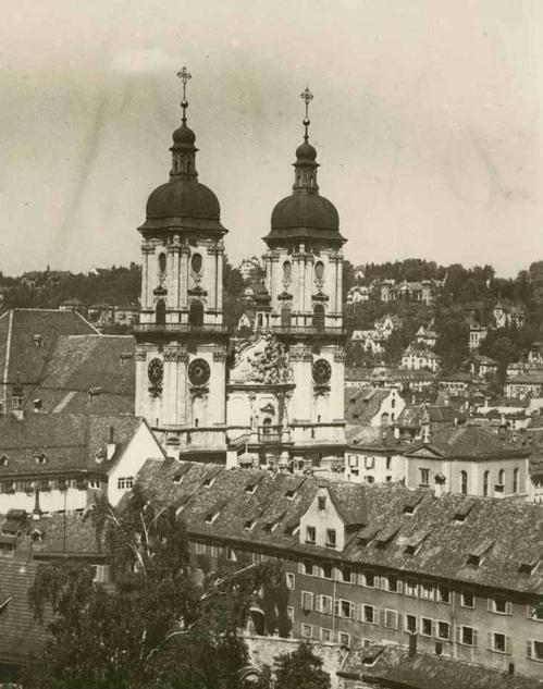Paul W. John - Fotografiert Die SCHWEIZ: St GALLEN - Die KLOSTERKIRCHE - um 1935 - Handabzug des Photographen kopen? Bied vanaf 38!