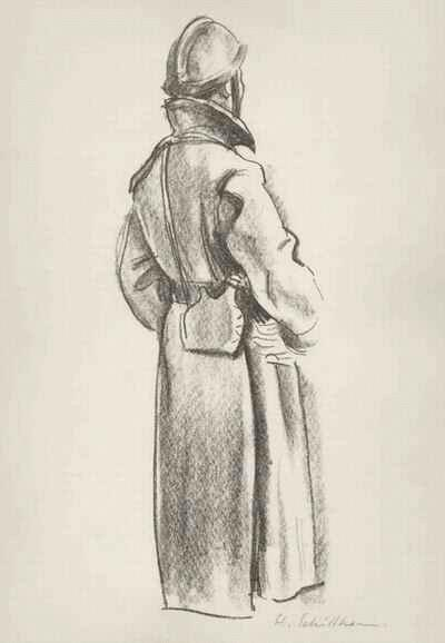 Hans Schöllhorn - FRANZOSE im MAGREB - handsignierte OriginalLithographie des SCHWEIZer Künstlers aus Winterthur kopen? Bied vanaf 45!