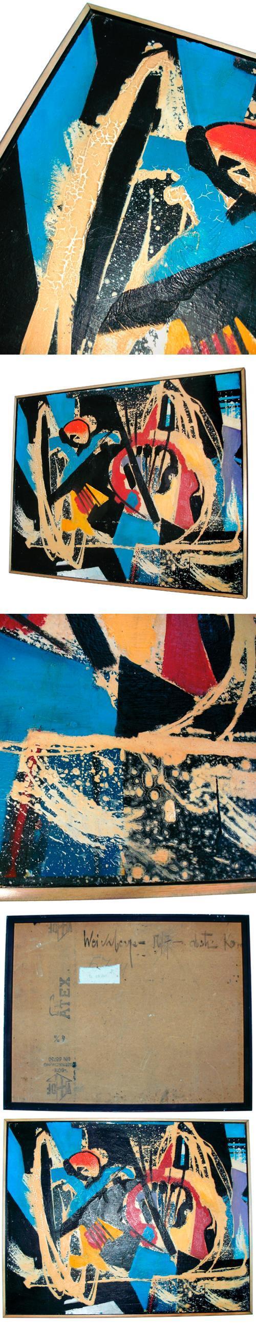 Philipp Weichberger - Frühe Abstraktion, 1956/57. kopen? Bied vanaf 1500!