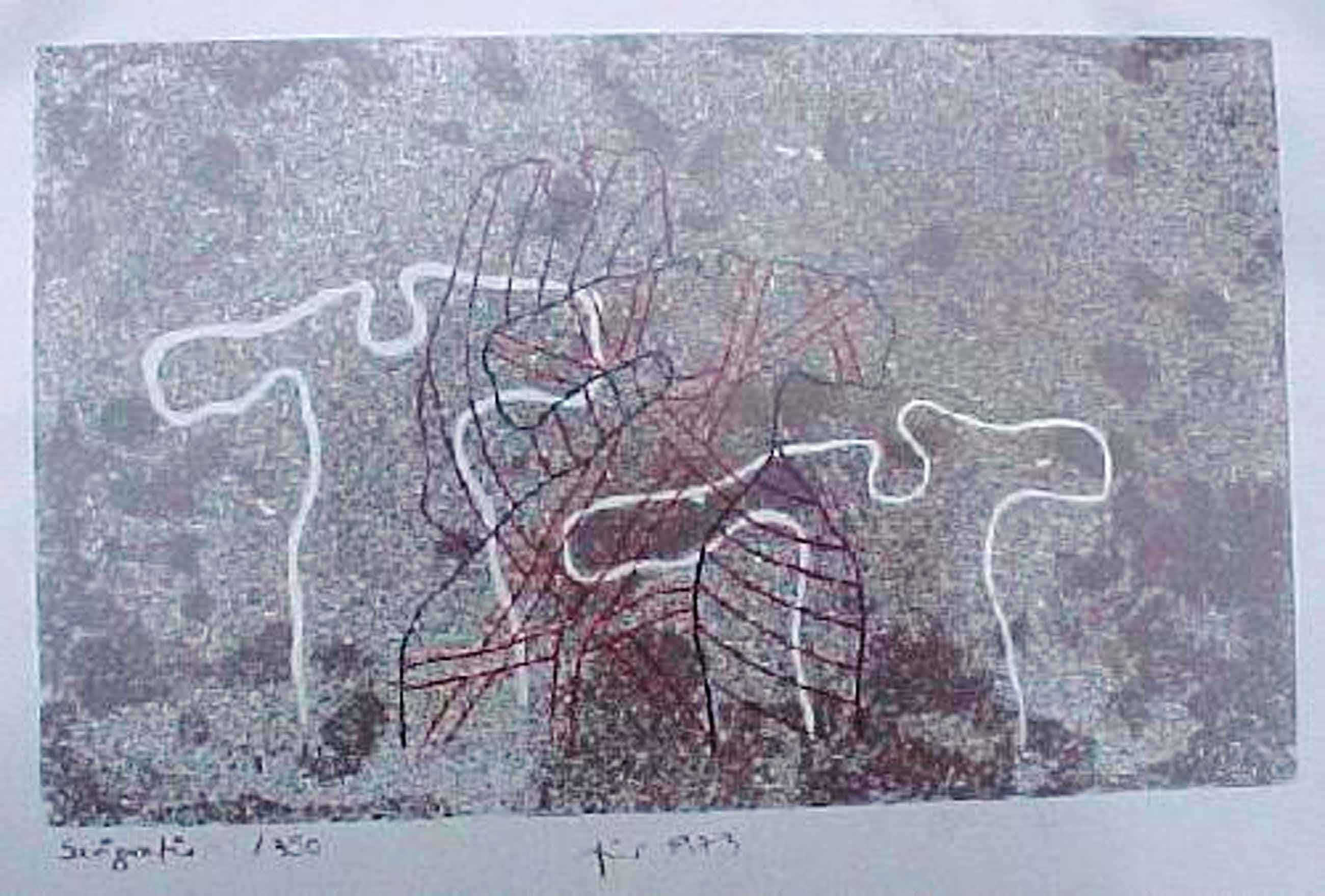 Axel Knipschild - Für 1973, Frblithografie 1973 kopen? Bied vanaf 40!