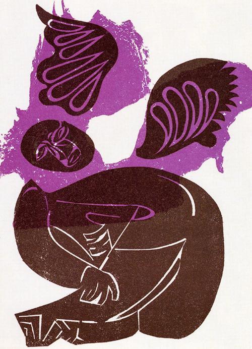 H.A.P. Grieshaber - Für Martin Luther King, Farbholzschnitt, 1968 kopen? Bied vanaf 118!