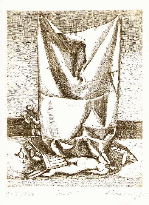 Gisela Breitling - für CH. M. OriginalRadierung der VILLA MASSIMO Meisterschülerin - handsigniert,num.& datiert 1985 kopen? Bied vanaf 95!