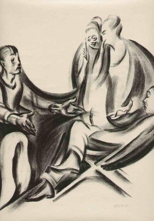 Theodor Klotz-Dürrenbach - GELD: Die UNGEPFLEGTEN HÄNDE - Handsignierte OriginalLithographie des WIENer SEZESSIONisten - 1920 kopen? Bied vanaf 95!