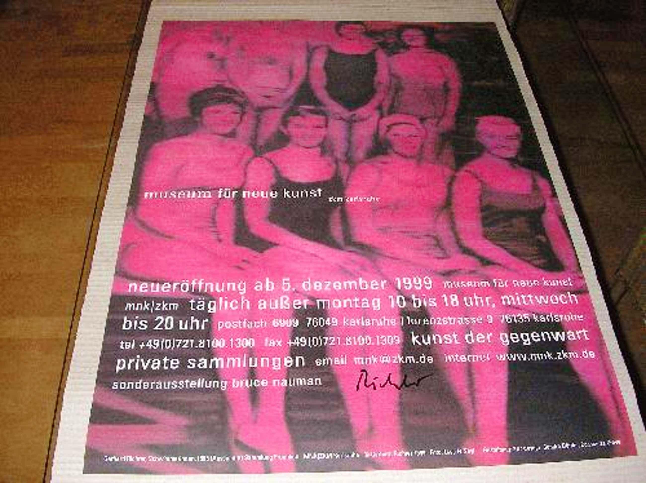 Gerhard Richter - Gerhard Richter: Handsigniertes, seltenes, großes Plakat kopen? Bied vanaf 850!