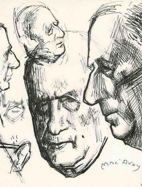 Edouard Georges Mac-Avoy - Gneral Charles de GAULLE 1963 - Handsignierte Druckgraphik des FRANZÖSISCHEN PORTRAITISTEN kopen? Bied vanaf 35!