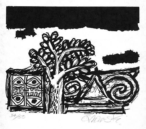 Hans Orlowski - GOTT SEI MIR GNÄDIG - handsignierter OriginalHolzschnitt 1961 - Psalm 51,1 DAVIDs - vorzusingen kopen? Bied vanaf 65!