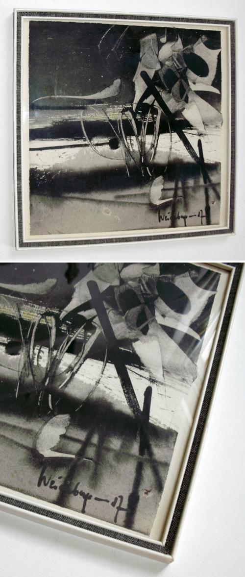 Philipp Weichberger - Gouache, 1957. kopen? Bied vanaf 500!