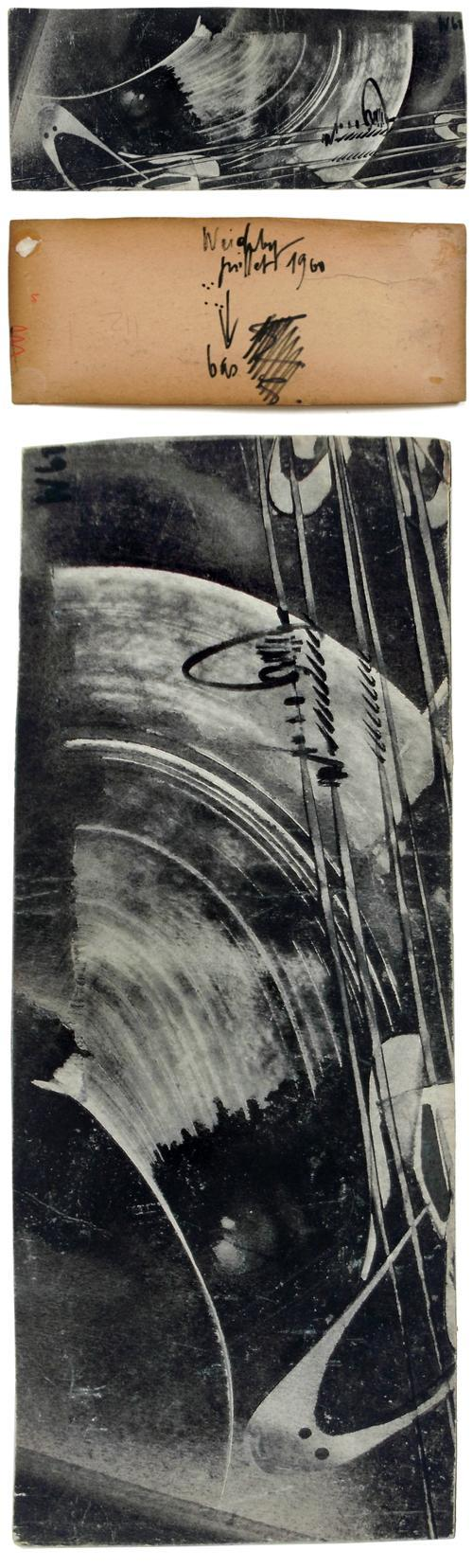 Philipp Weichberger - Gouache, 1960. informel kopen? Bied vanaf 275!
