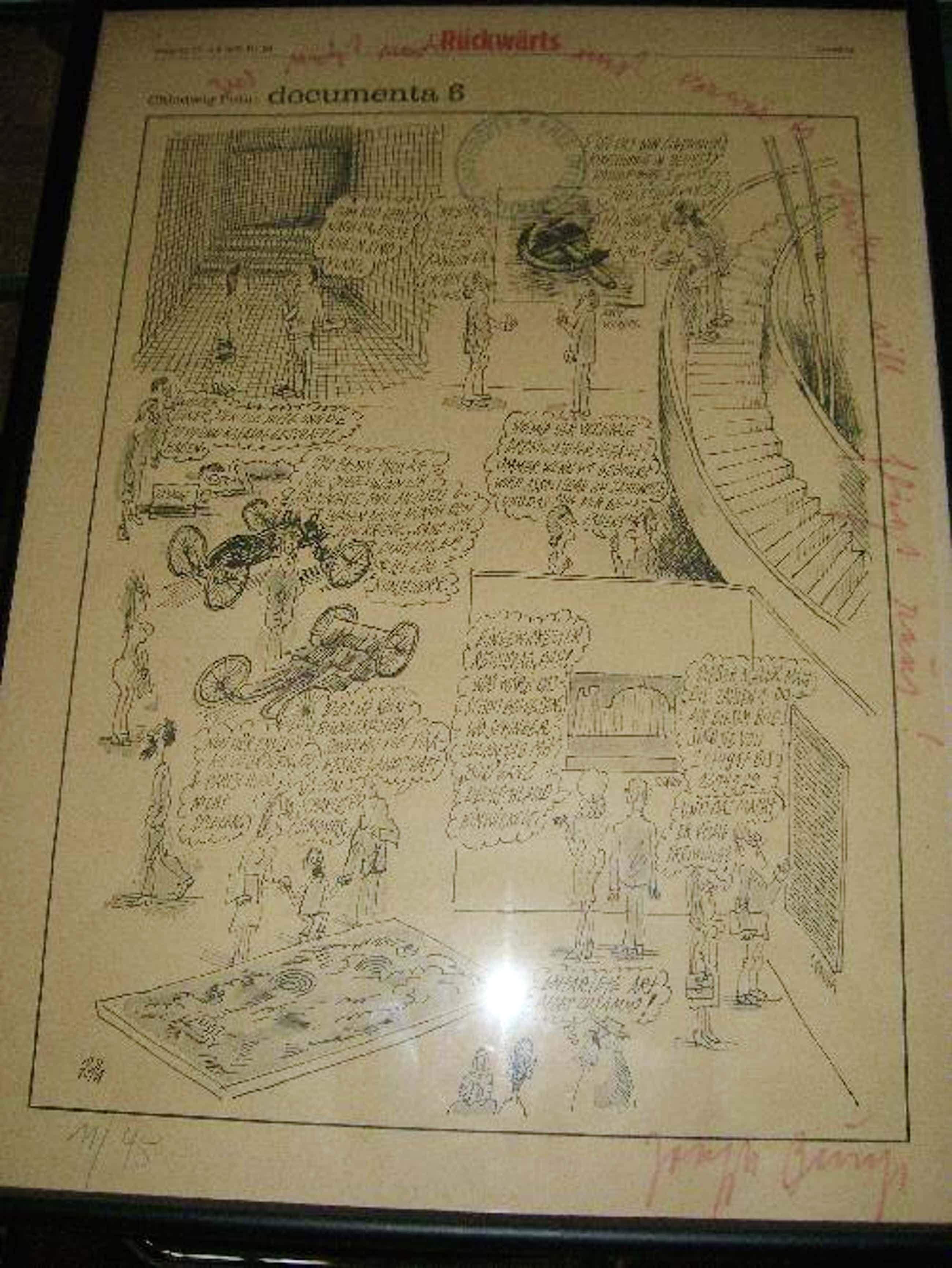 Joseph Beuys - Graphik ( Zeitung), 1977 kopen? Bied vanaf 1800!