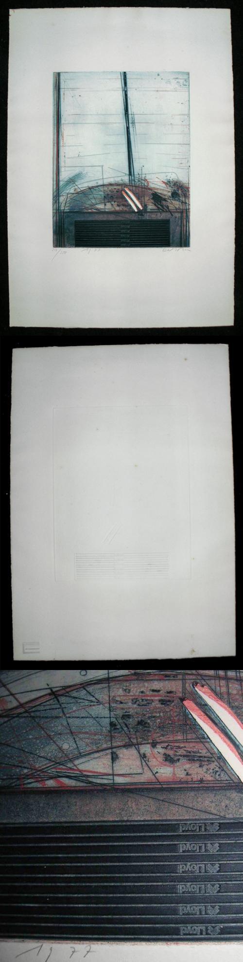 Karl Fred Dahmen - Große Farbaquatinta, 1977. kopen? Bied vanaf 190!