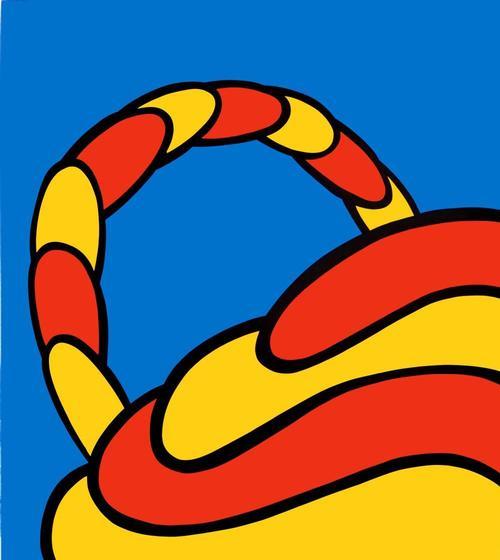 Nicholas Krushenick - Großer Farbsiebdruck, 1965 kopen? Bied vanaf 450!
