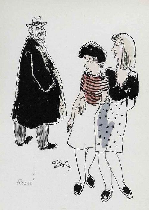 Paul Rosiè - GROßSTADTBLÜTEN 1949 Handsignierte & -kolorierte BERLINer SCENE d.Illustratoren der KHS Weißensee kopen? Bied vanaf 56!
