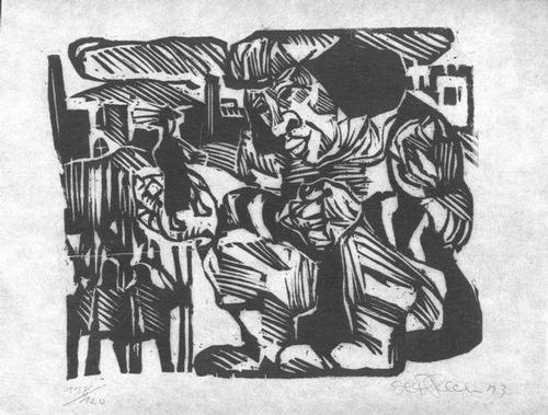 Herbert Felix Plahl - Gullivers Reisen - zu Jonathan Swift - Holzschnitt 1973 kopen? Bied vanaf 45!