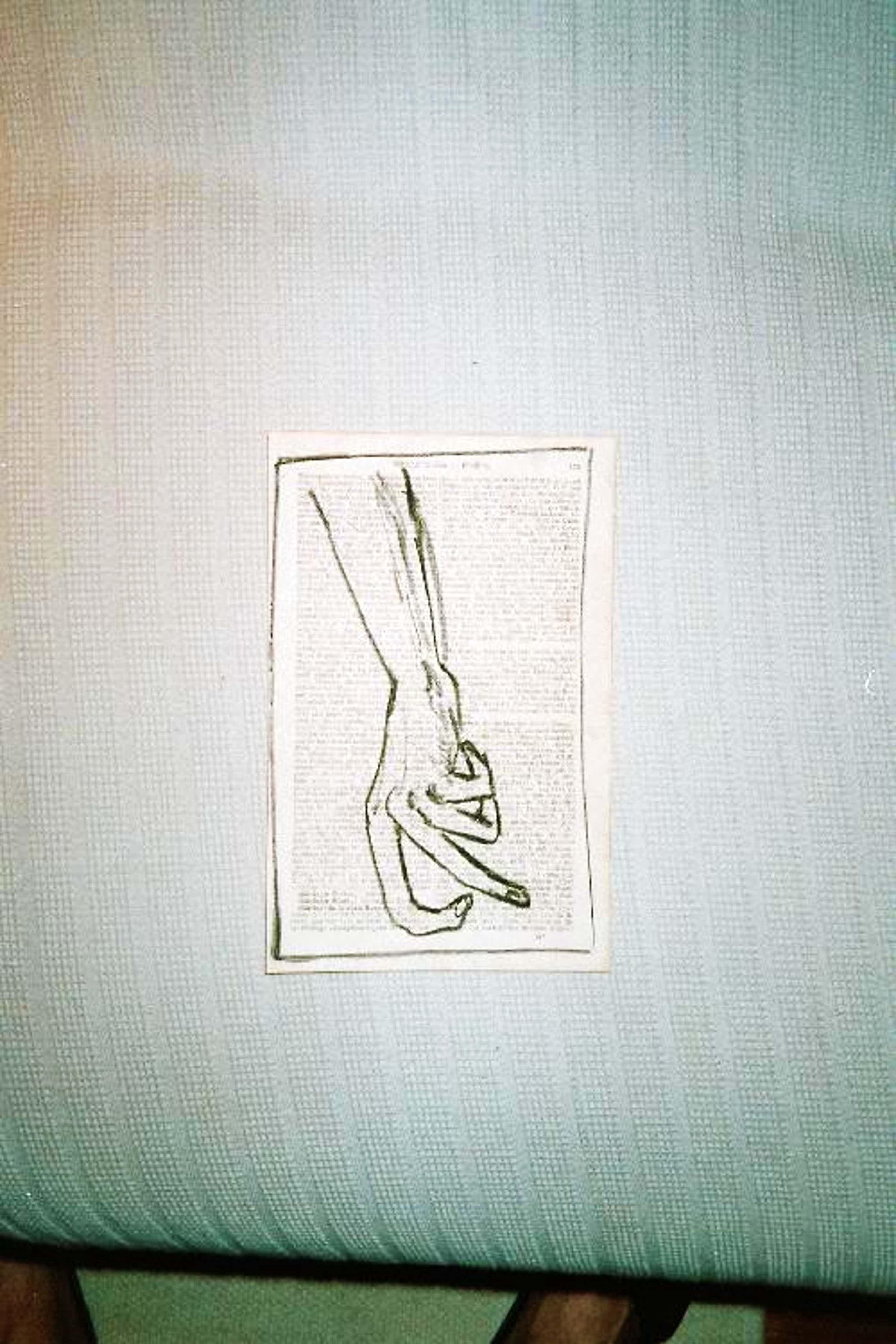 A.R. Penck - - Hand - Original-Kohlezeichnung auf Lexikonseite, 1961 kopen? Bied vanaf 390!