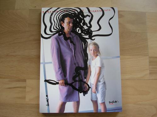 Georg Herold - handsigniert: Kippenberger übermalt von Georg Herold,Unikat, Übermalung auf Fotobuch kopen? Bied vanaf 700!