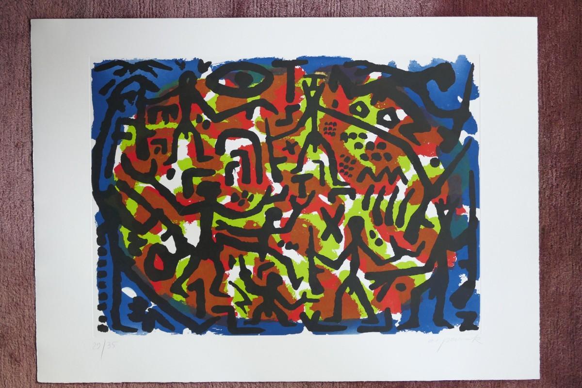 A.R. Penck - *handsignierte Originalgraphik* kopen? Bied vanaf 1000!