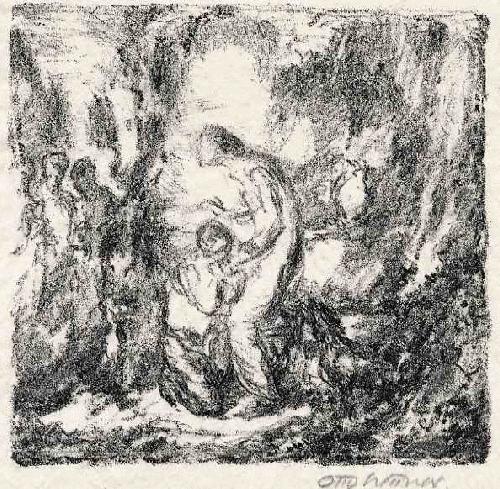 Otto Hettner - Handsignierte OriginalLithographie des Otto DIX Meisterschülers - 1922 kopen? Bied vanaf 39!
