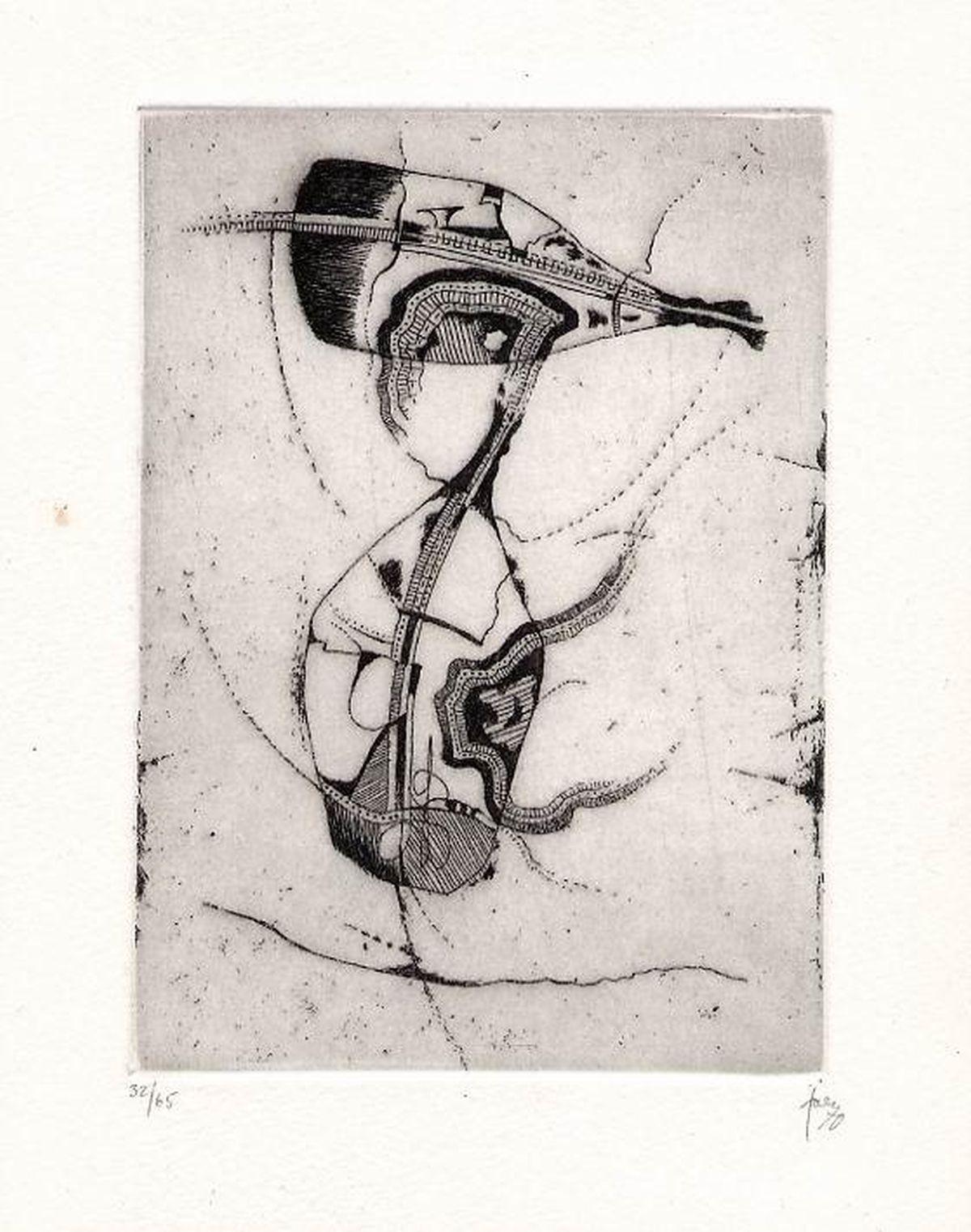 Hans Jaenisch - HANDSIGNIERTE OriginalRadierung 1971 zur JAENISCH Monographie in VERLAG NIGGLI 32/65 kopen? Bied vanaf 120!