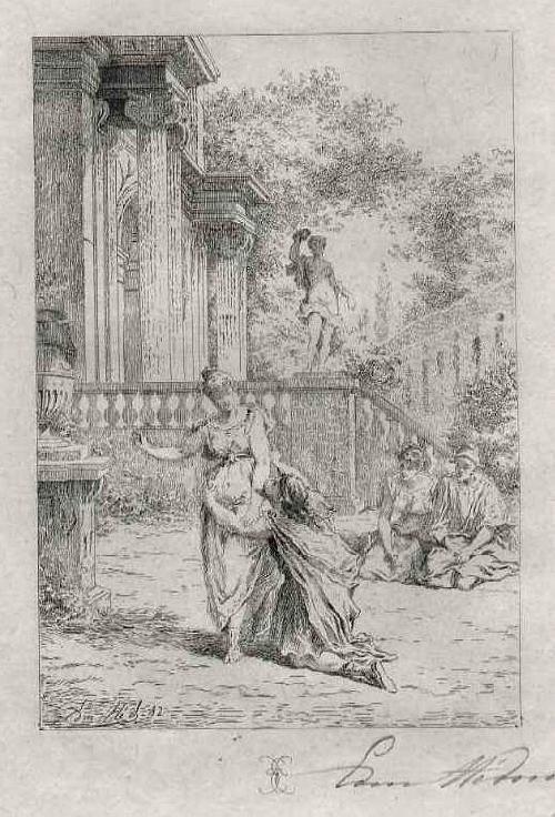 Edmond Hèdouin - Handsignierte OriginalRadierung - LIEBESGESTÄNDNIS - EauForte originale signée au crayon kopen? Bied vanaf 39!