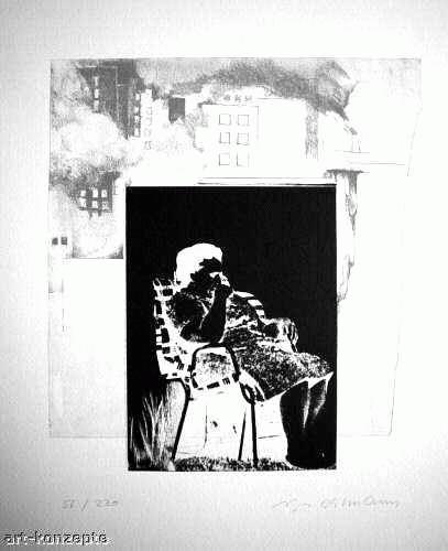 Aloys Ohlmann - Handsignierte OriginalSerigrafie des SAARLÄNDERs 1972 , nummeriert kopen? Bied vanaf 65!