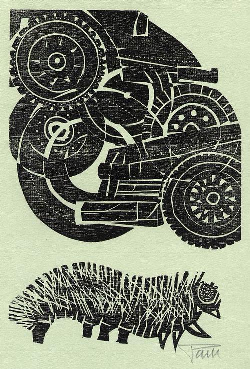 Alfred Pohl - Handsignierter OriginalHolzschnitt 1985 zu einer Fabel von Rudolf Otto WIEMER (REALISMO MAGICO) kopen? Bied vanaf 29!