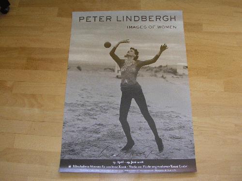 """Peter Lindbergh - Handsigniertes Plakat von 2008 """"Images of women"""" kopen? Bied vanaf 200!"""