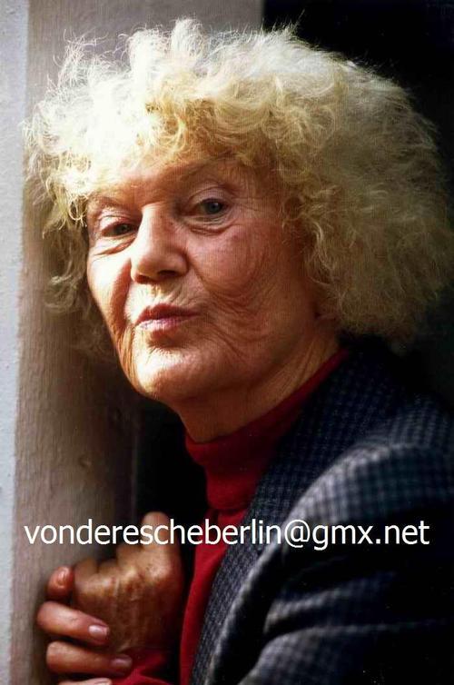 Ingo Barth - Handsigniertes Portrait: Ada HECHT - KLIMPERKASTEN-Gründerinnen & DISEUSE - OriginalFarbFotografie kopen? Bied vanaf 65!