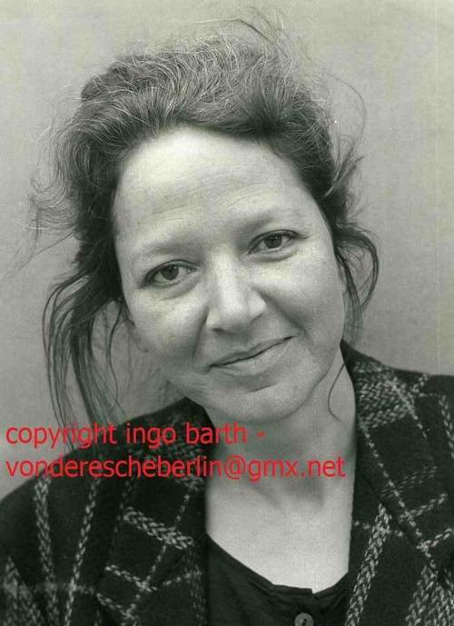 Ingo Barth - Handsigniertes Portrait: Anna JONAS - Schriftstellerin & LYRIKERIN - Handabzug des Fotographen kopen? Bied vanaf 75!