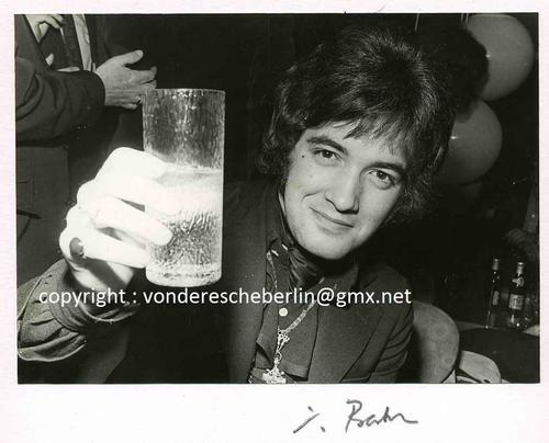 Ingo Barth - Handsigniertes Portrait: Barry RYAN dessen grösster Hit ELOISE war - Handabzug d.Fotographen Vintage kopen? Bied vanaf 95!
