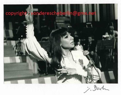 Ingo Barth - Handsigniertes Portrait: Esther OFARIM - OriginalFotographie Handabzug des Fotographen - VINTAGE kopen? Bied vanaf 110!